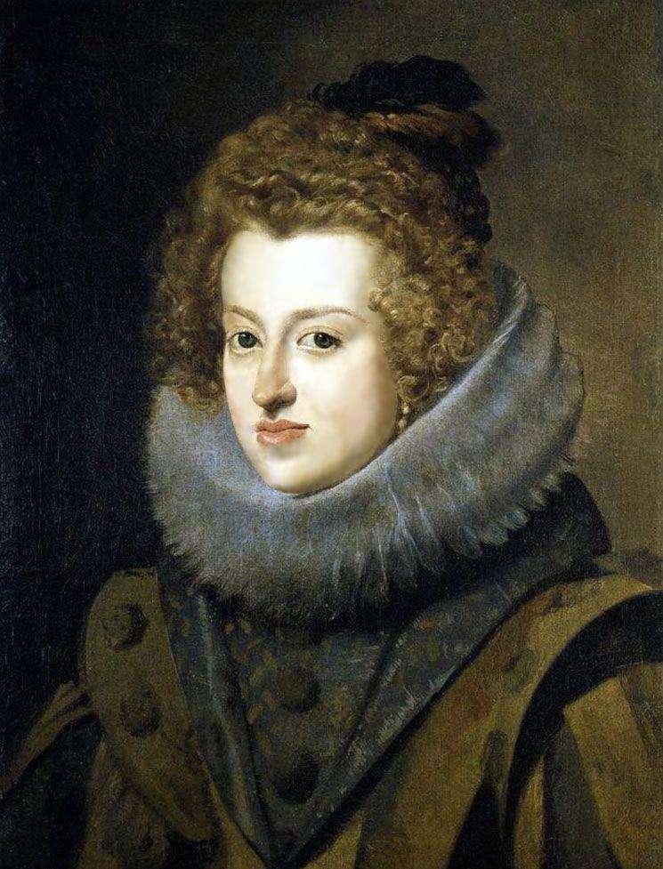 Infanta Maria Anna, królowa Węgier   Diego Velasquez