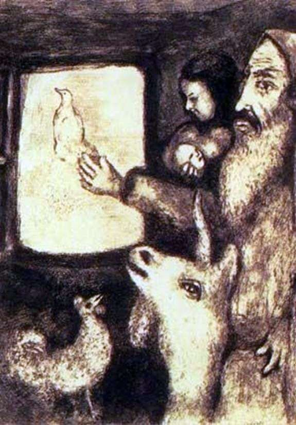 Ilustracje książek   Marc Chagall