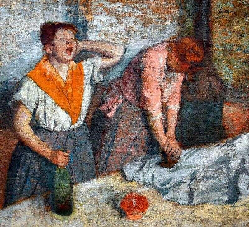 Dwóch prasowiczów   Edgar Degas
