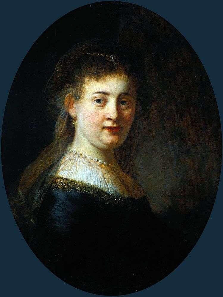 Saskia van Eilenburg   Rembrandt Harmens Van Rhine
