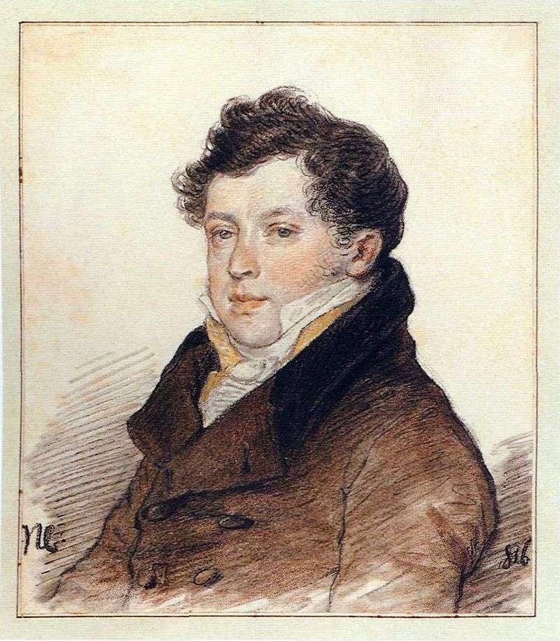 Portret A. I. Turgieniewa   Piotra Sokołowa