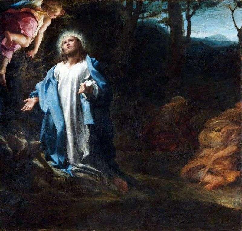 Modlitwa w ogrodzie Getsemani   Correggio (Antonio Allegri)