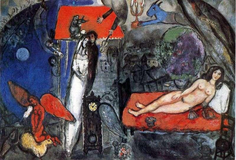 Moja żona   Marc Chagall