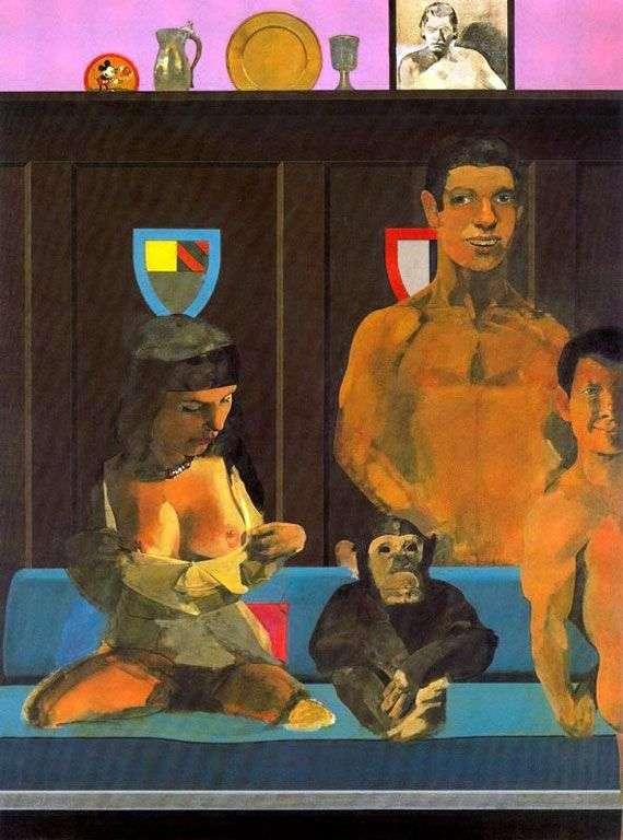 Tarzan, Jane, Baby i Chita   Peter Blake