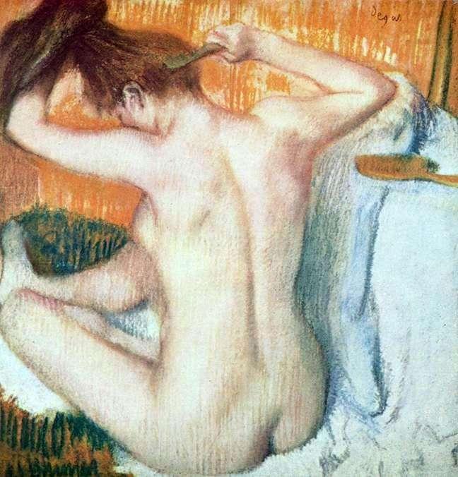 Kobieta w toalecie   Edgar Degas