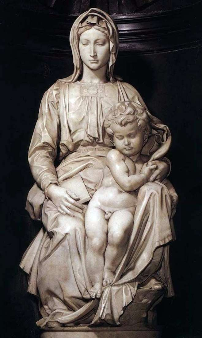 Madonna z Dzieciątkiem (rzeźba)   Michał Anioł Buonarroti