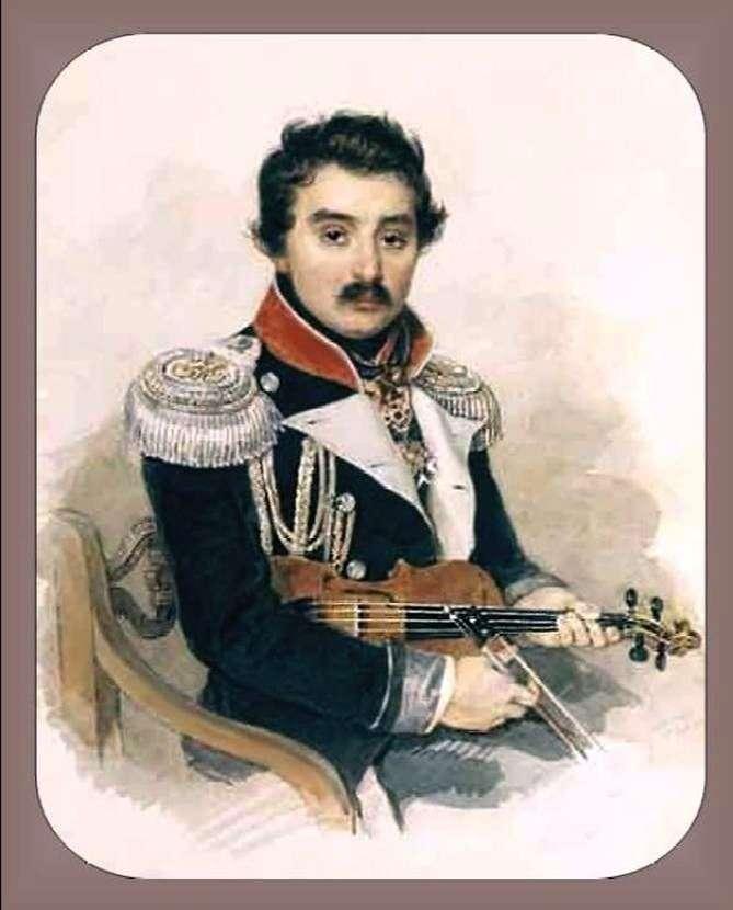 Portret A. F. Lwowa   Piotr Sokołow
