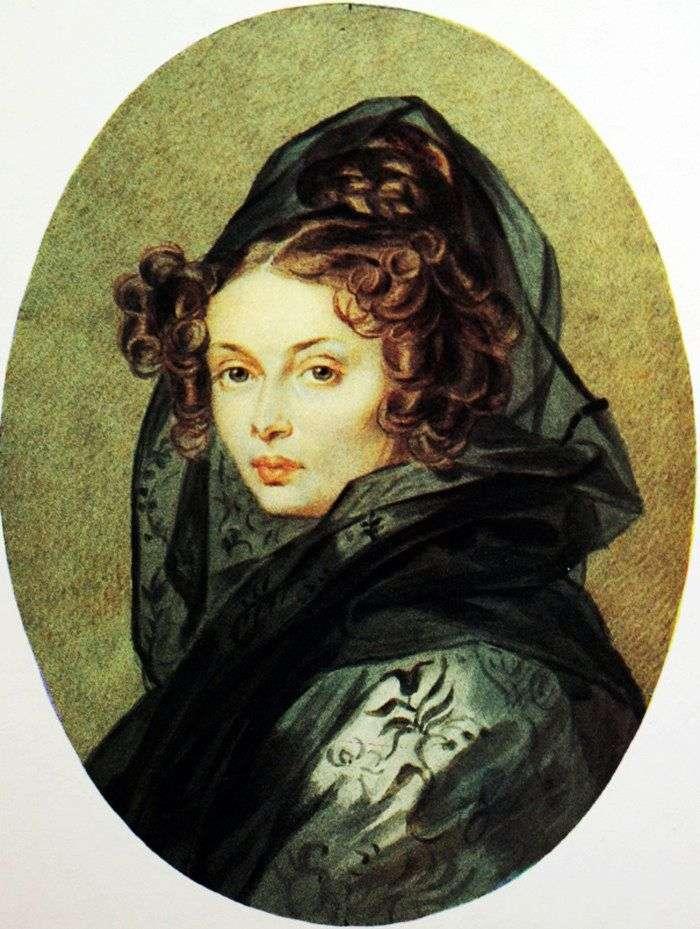 Portret Alexandra G. Muravyova   Peter Sokolov