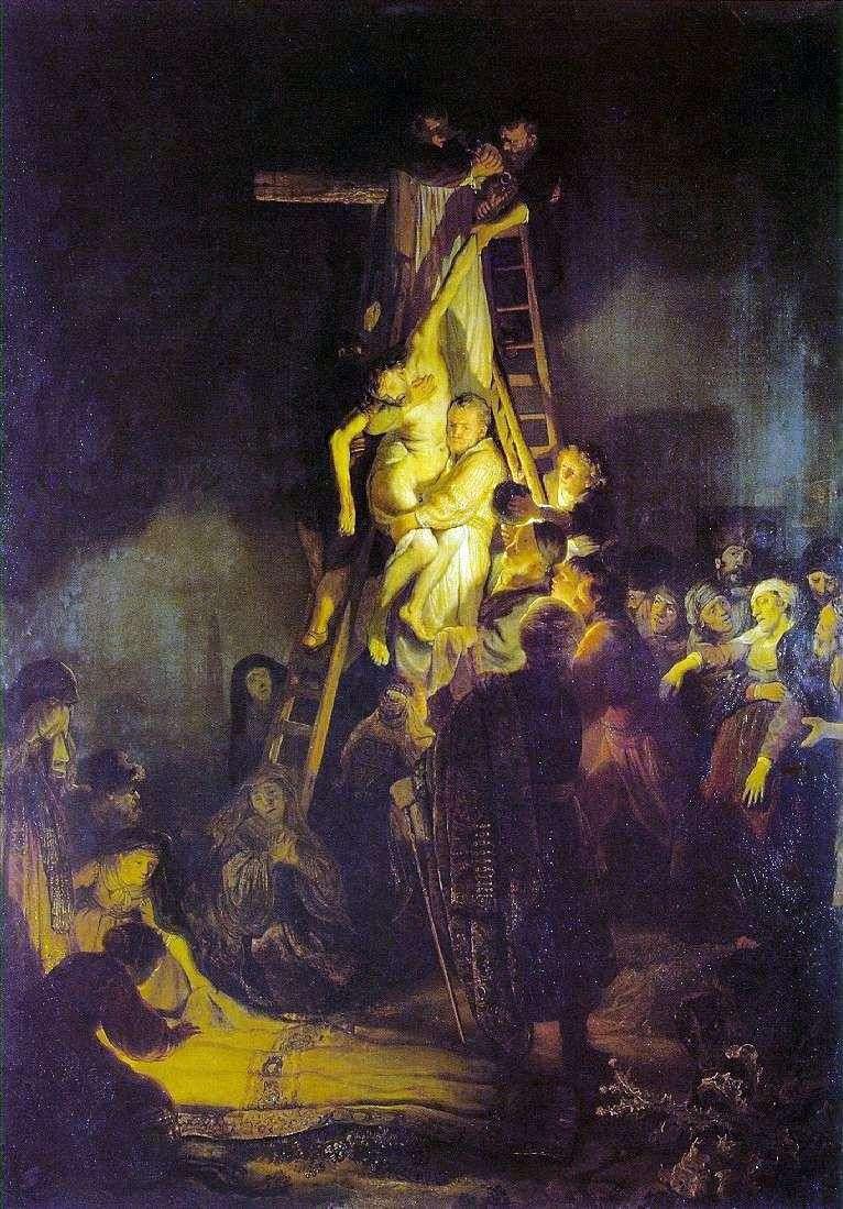 Zejście z krzyża   Rembrandt Harmens Van Rhine
