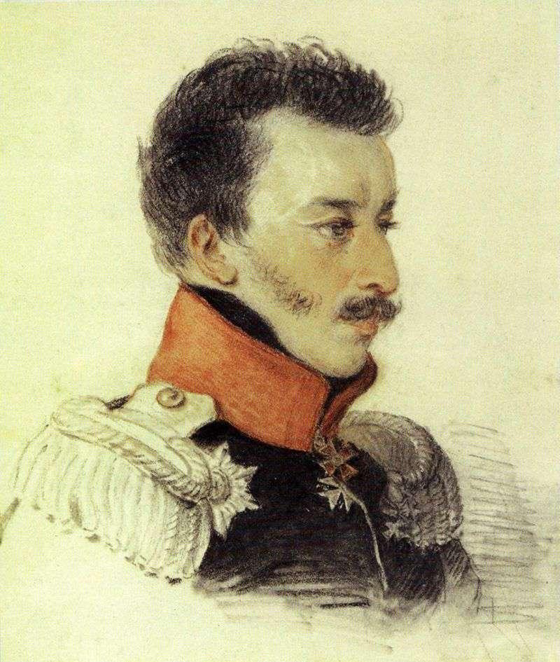Portret Volkonsky S. G   Peter Sokolov
