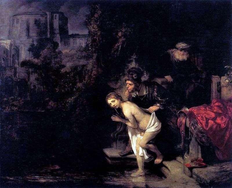 Zuzanna i starsi   Rembrandt Harmens Van Rhine