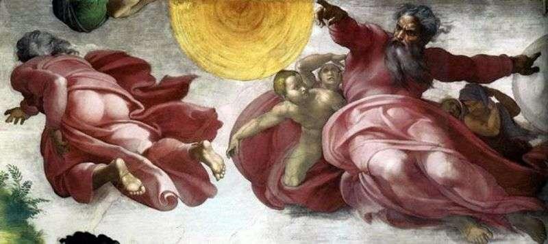 Oddzielenie światła od ciemności   Michelangelo Buonarroti