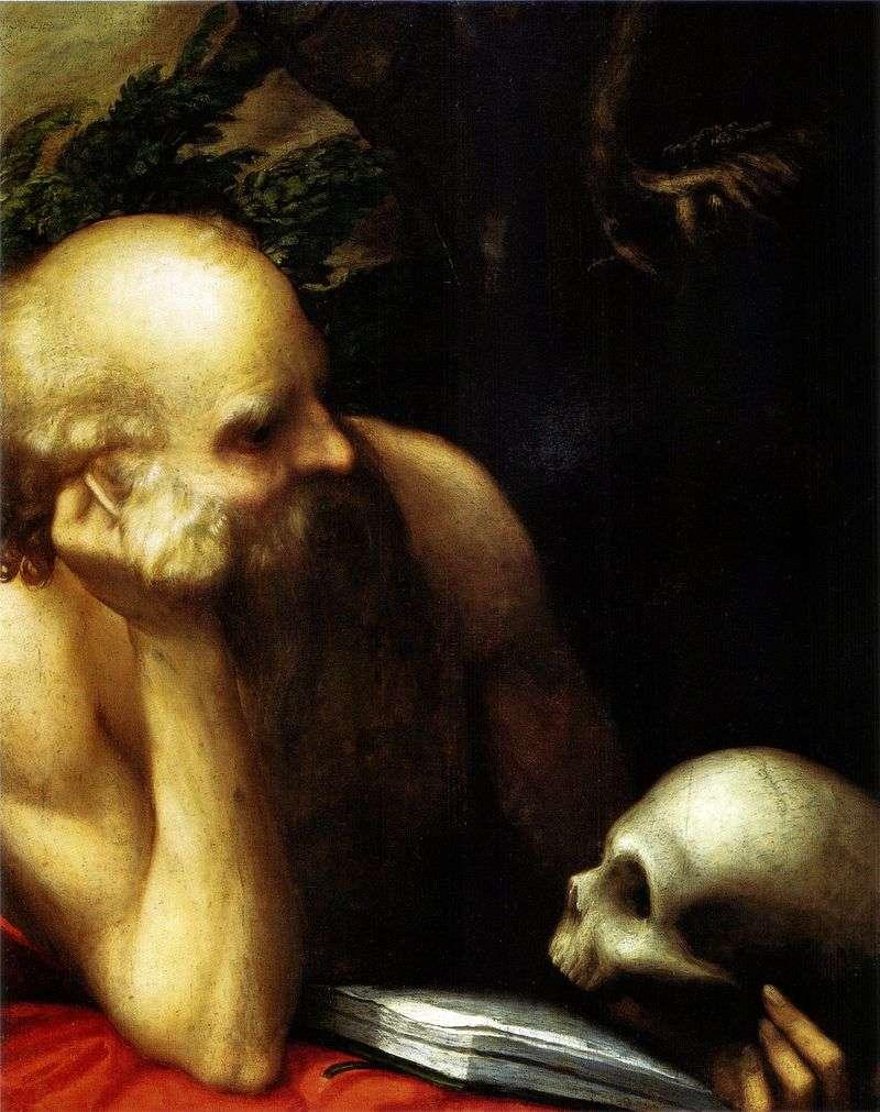 Święty Jerome   Correggio (Antonio Allegri)
