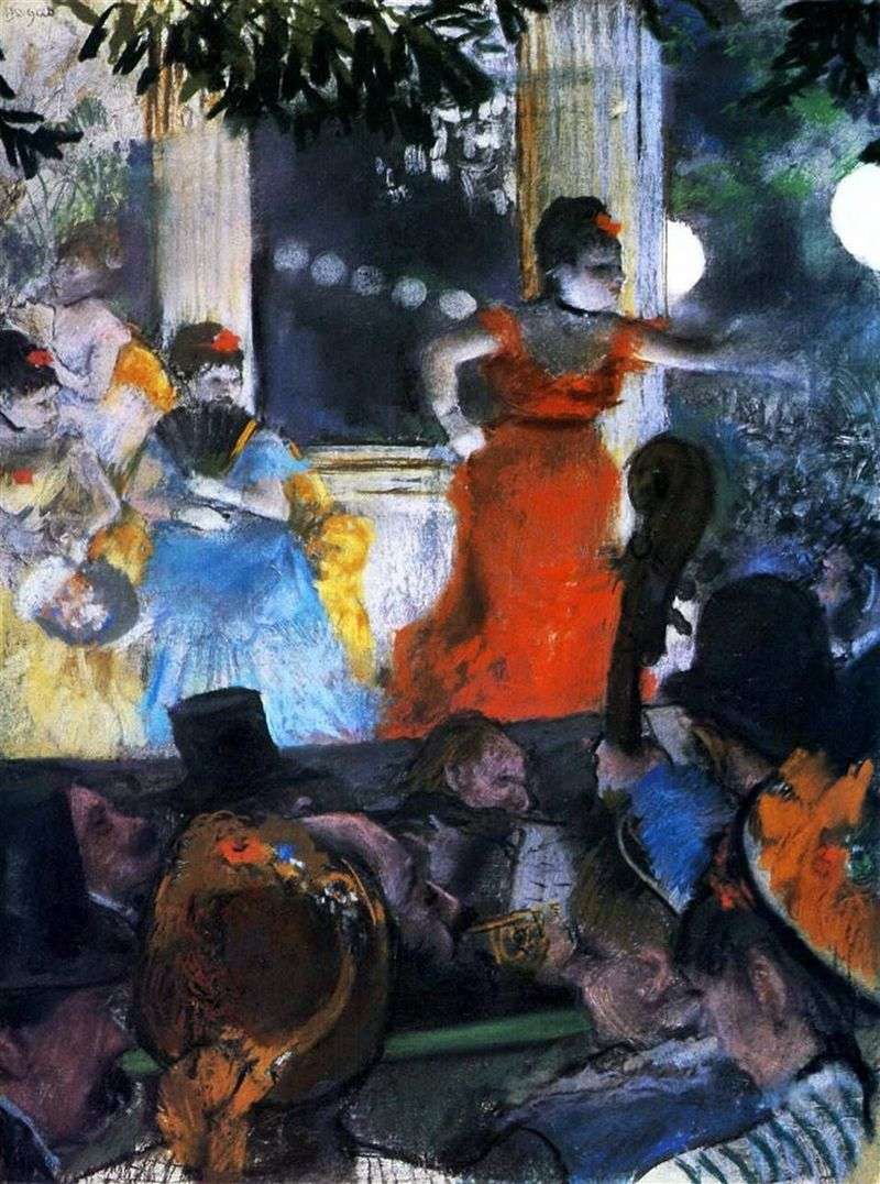 Cafesantan Ambassador (koncert Cafe in the Ambassador   Edgar Degas