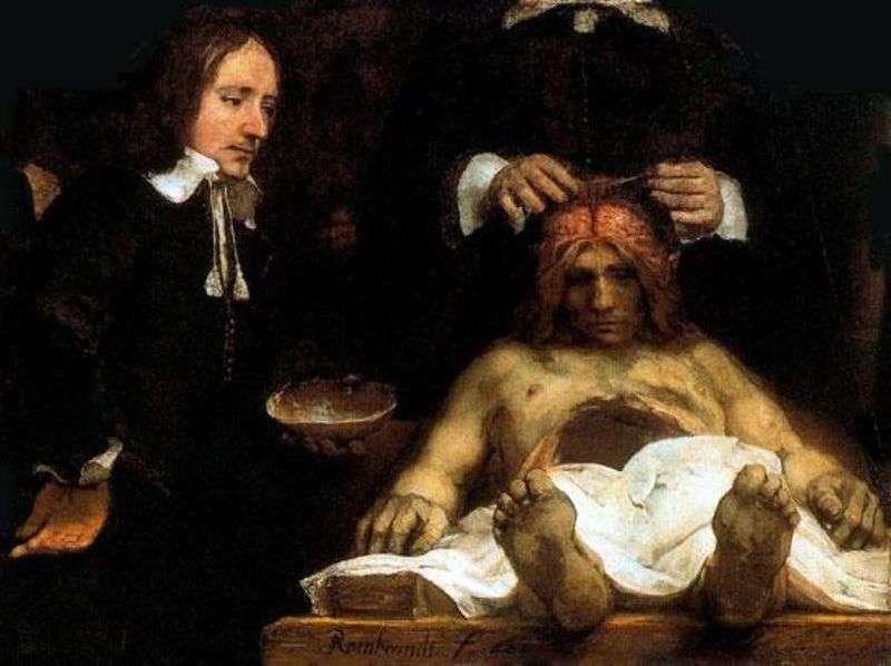 Lekcja doktora Deimana   Rembrandt Harmens Van Rhine