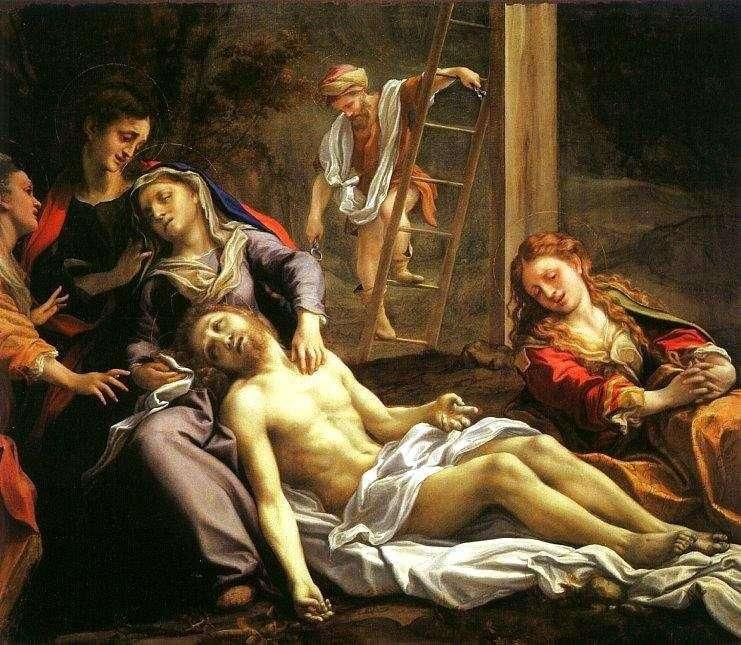 Zejście z krzyża   Correggio (Antonio Allegri)