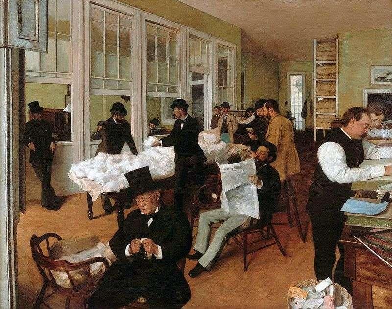 Biuro Bawełny w Nowym Orleanie   Edgar Degas