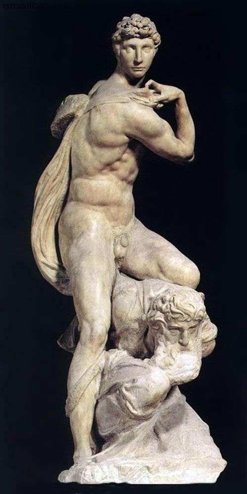 Zwycięstwo (rzeźba)   Michał Anioł Buonarroti