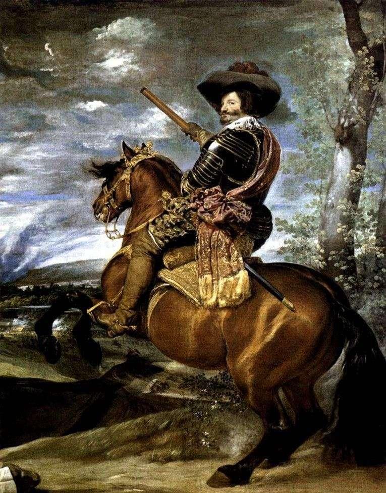 Portret hrabiego Olivaresa   Diego Velasqueza