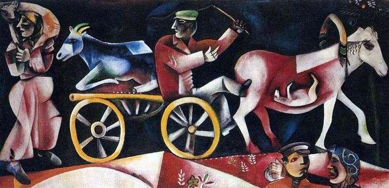 Sprzedawca zwierząt gospodarskich   Marc Chagall