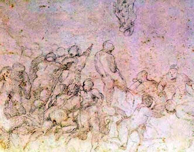 Studium przygotowawcze do filmu Bitwa pod Kashin   Michelangelo Buonarroti