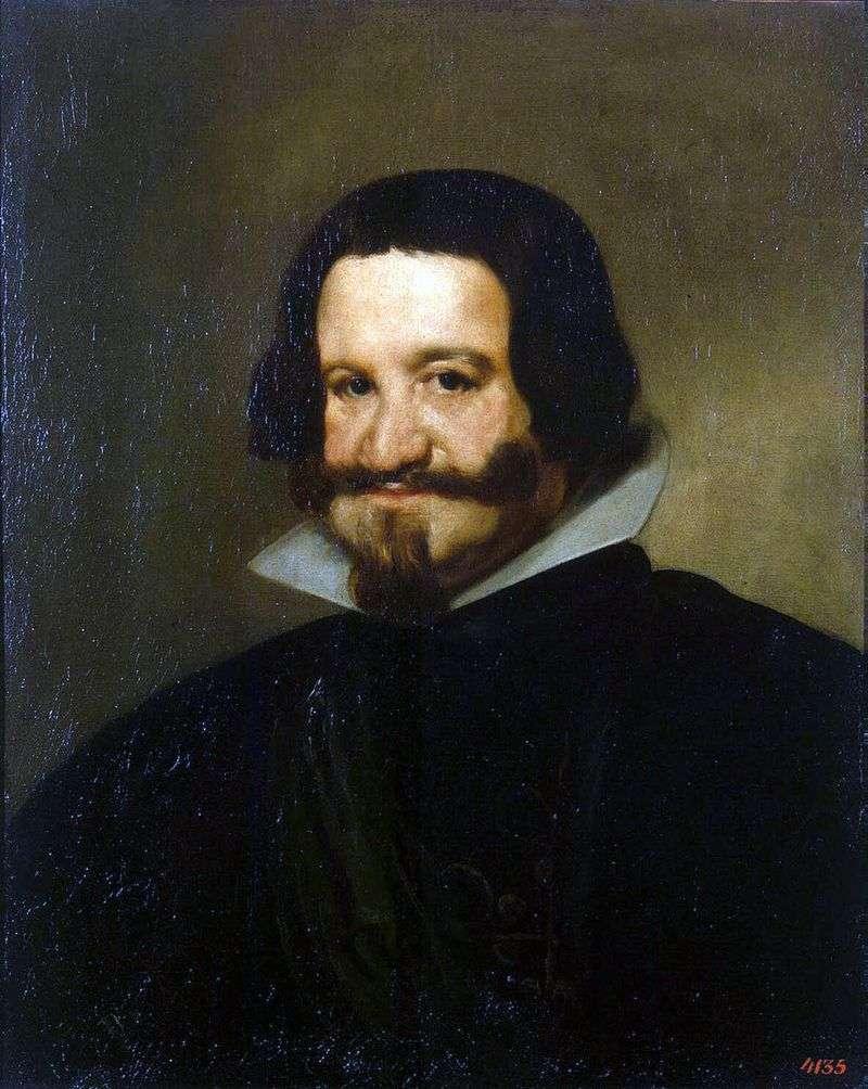 Portret hrabiego Olivaresa   Diego de Silva Velasquez