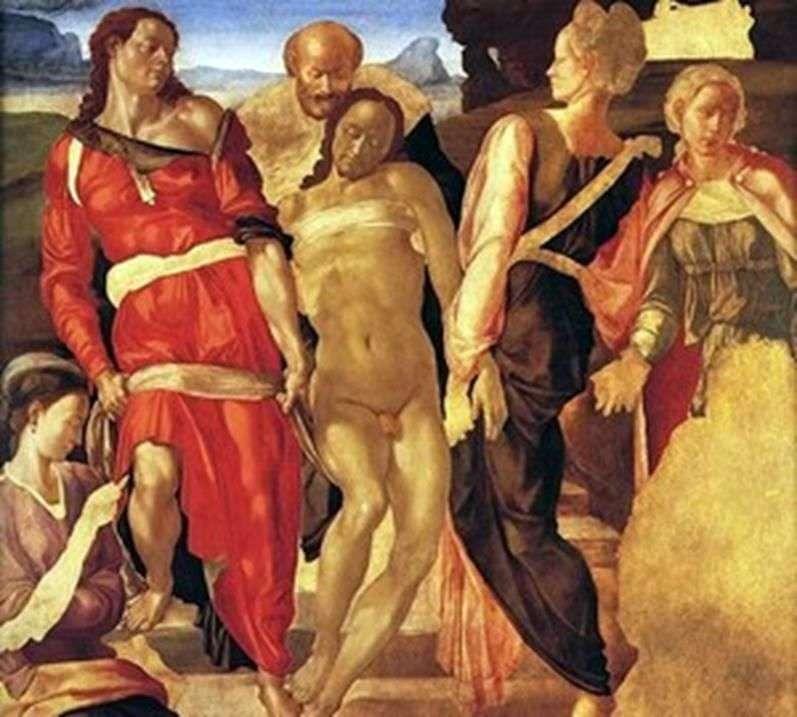 Nagrobek autorstwa Michała Anioła Buonarrotiego