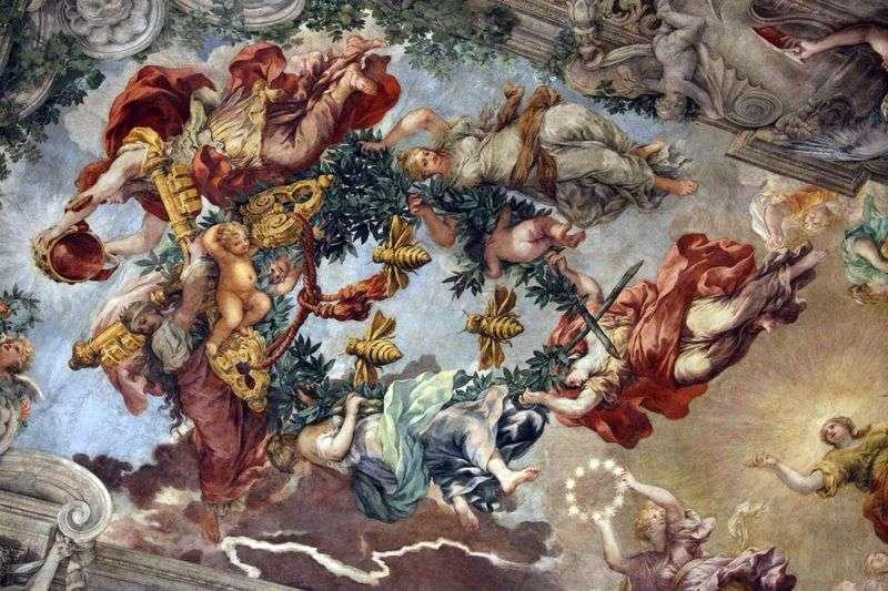 Triumf Boskiej Opatrzności   Pietro da Cortona