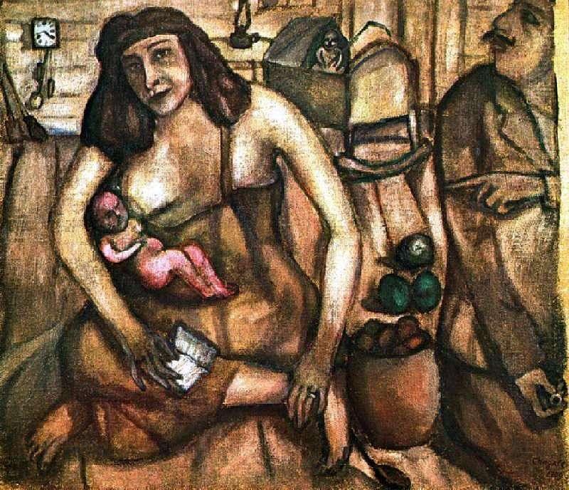Święta rodzina   Marc Chagall