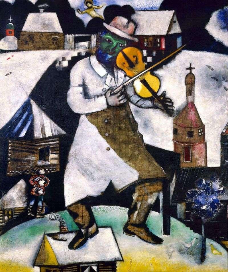 Skrzypek   Marc Chagall