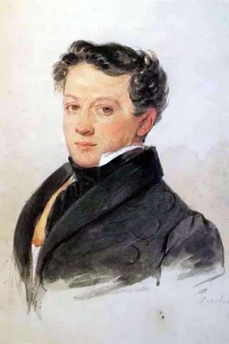 Portret S. Turgieniewa   Piotr Sokołow