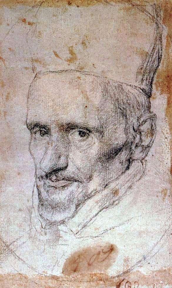 Portret kardynała Borgii   Diego Velasqueza