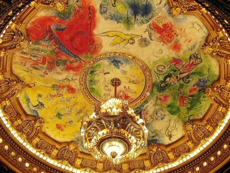 Murale i mozaiki   Marc Chagall
