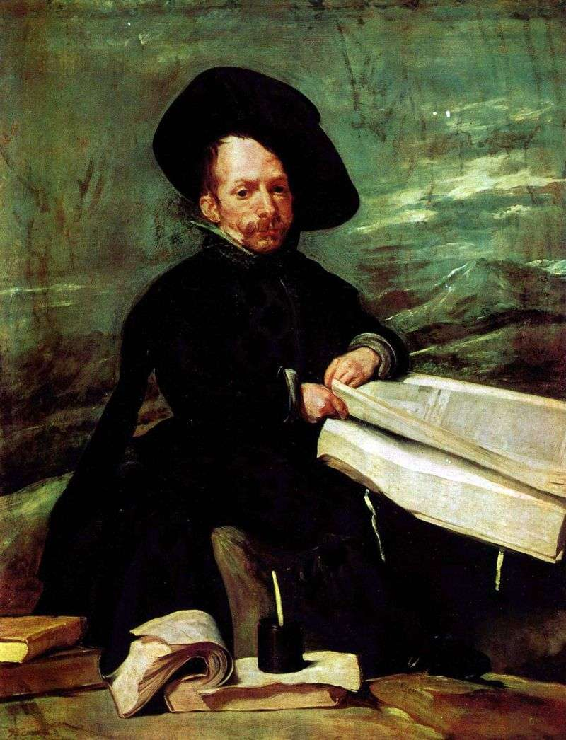 Portret błazna dworskiego El Primo   Diego Velasquez