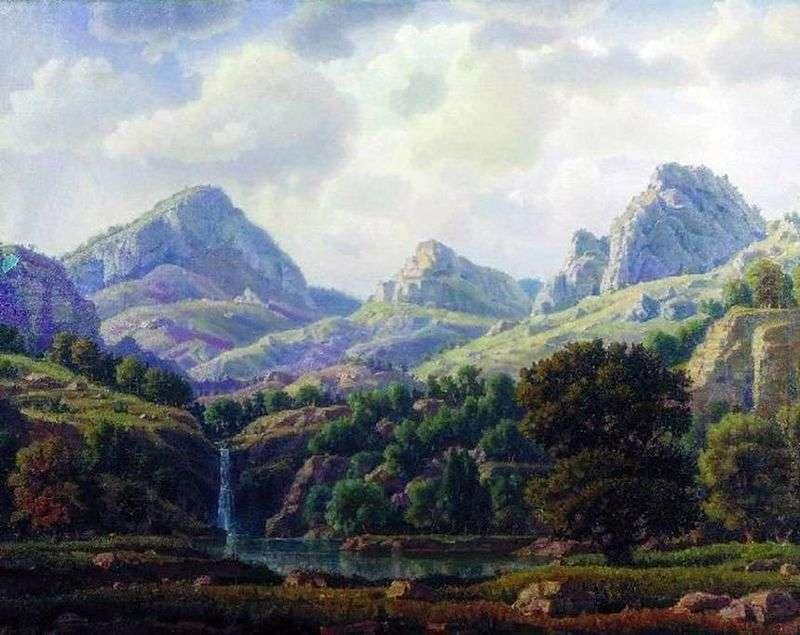 Krajobraz górski   Konstantin Bogaevsky
