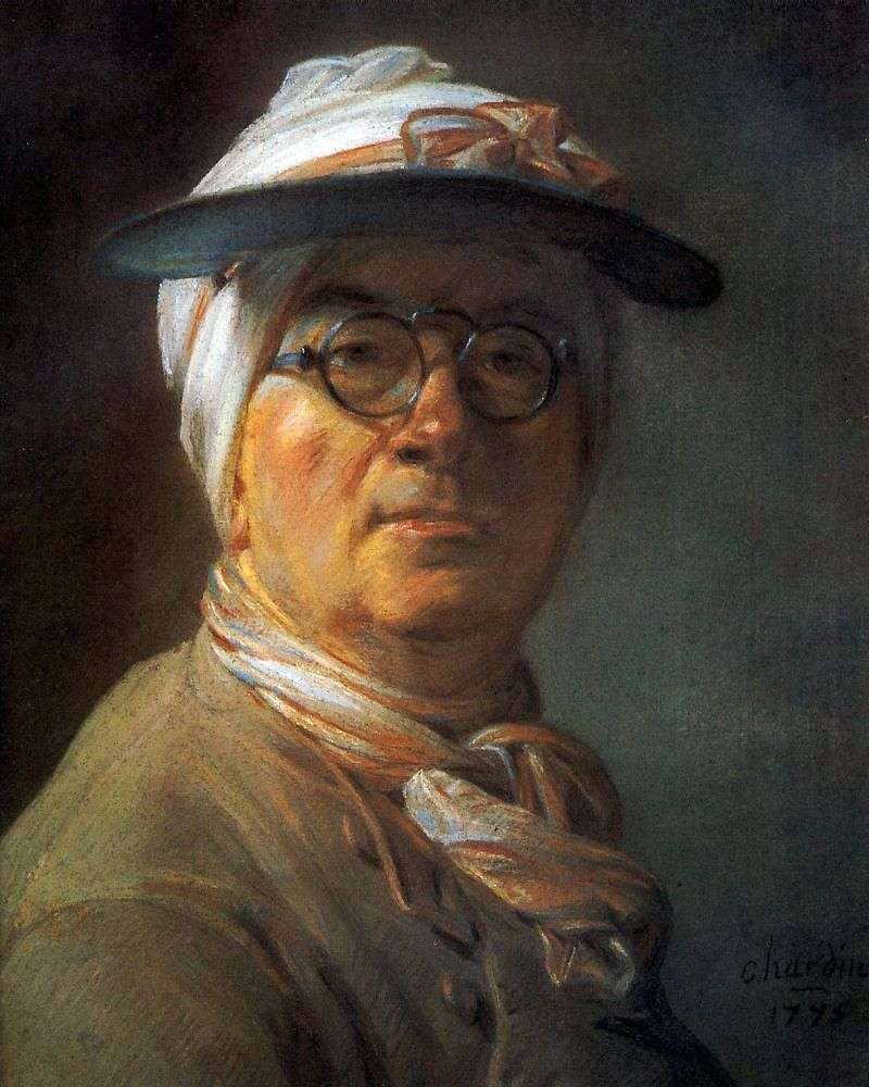 Autoportret   Jean Baptiste Chardin
