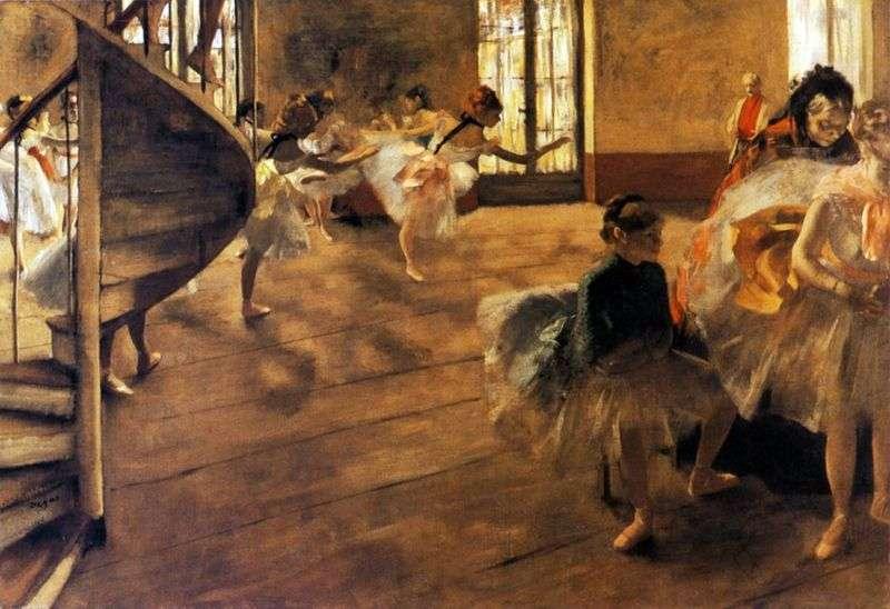 Próba   Edgar Degas