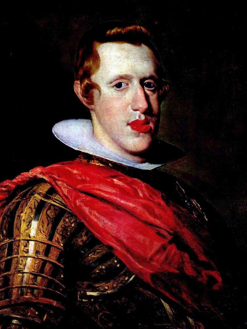 Portret Philipa Habsburga   Diego Velasqueza