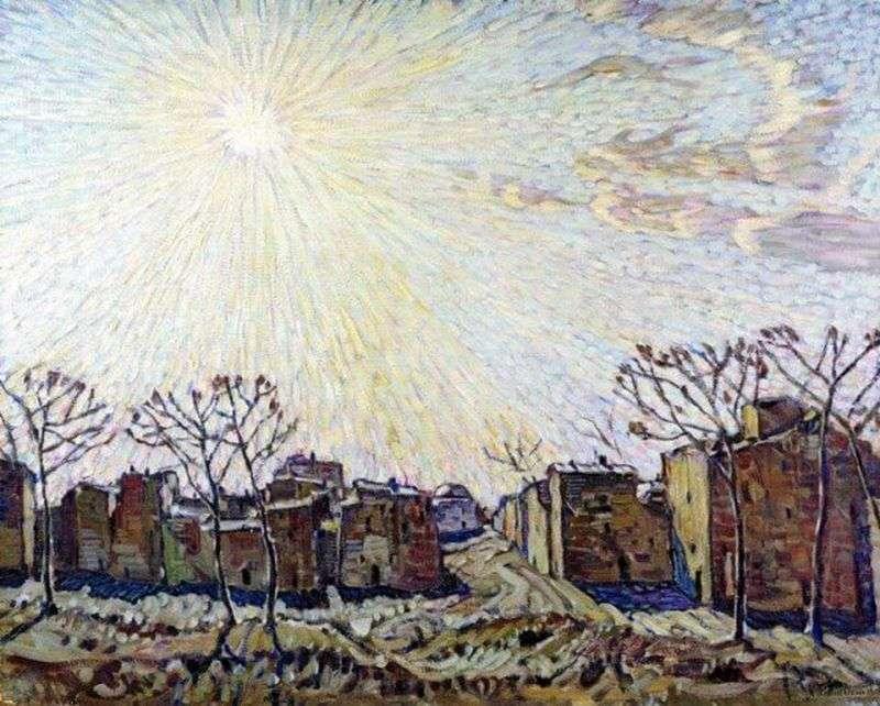Słońce   Konstantin Bogaevsky