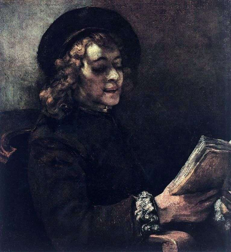 Titus Reader   Rembrandt Harmens Van Rhine