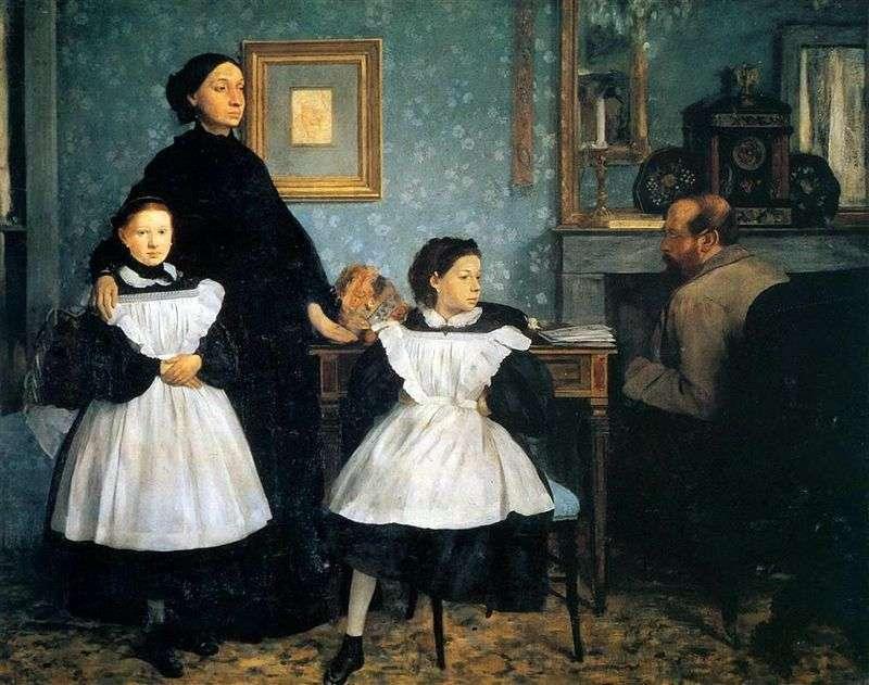 Rodzina Belelli   Edgar Degas