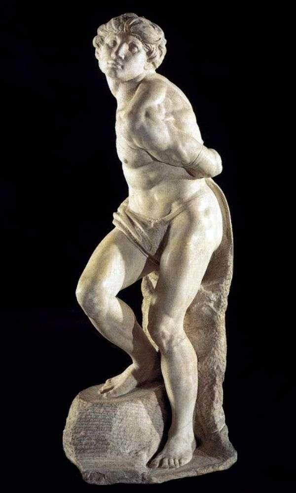 Związany niewolnik (rzeźba)   Michał Anioł Buonarroti