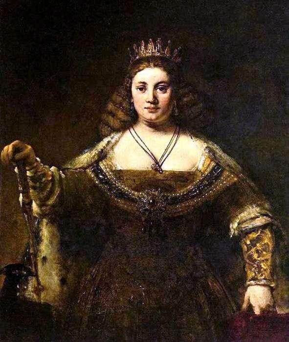 Juno   Rembrandt Harmens Van Rhine