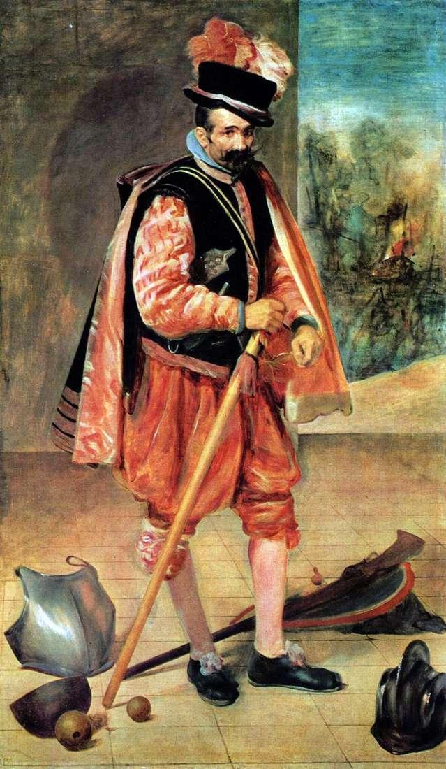 Dwór błazna Juana z Austrii   Diego Velasqueza
