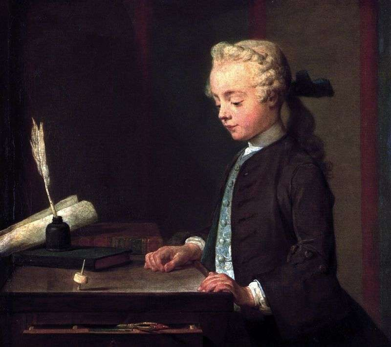Chłopiec z Yula   Jean Baptiste Simeon Chardin