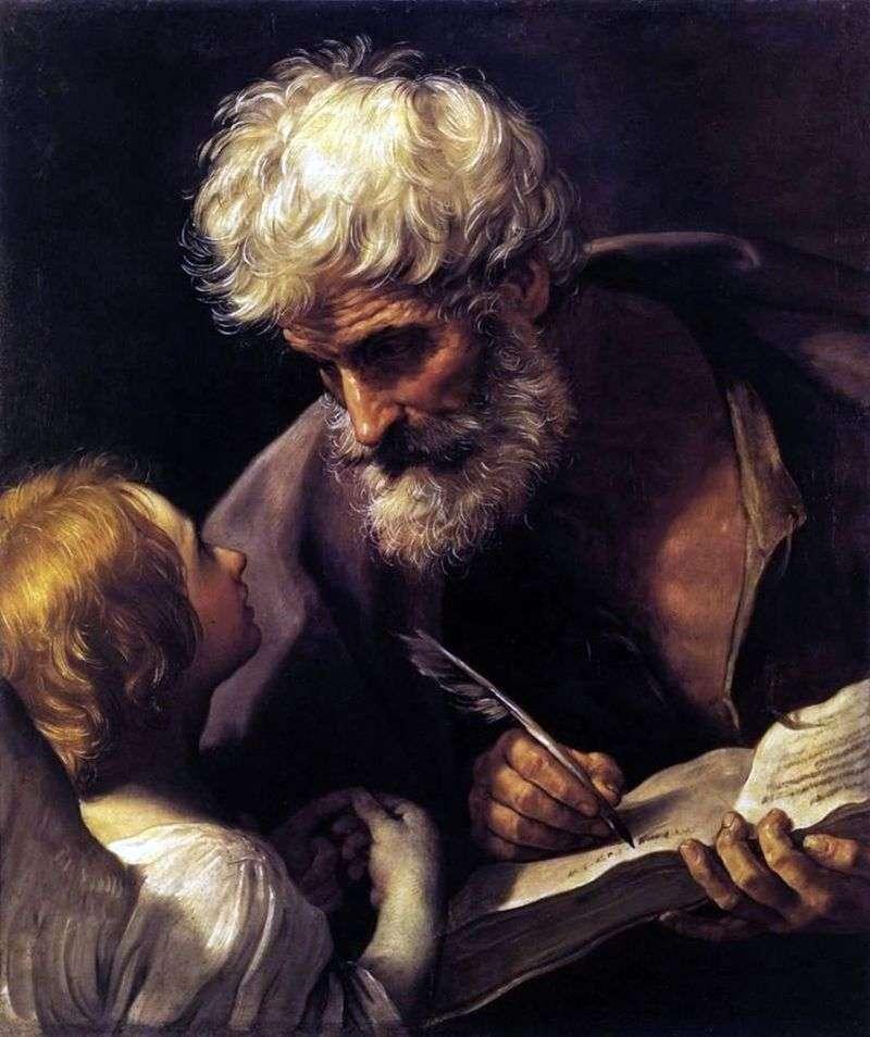 Apostoł Mateusz i Anioł   Guido Reni