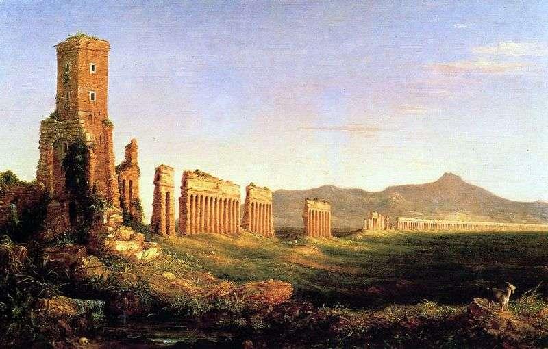 Akwedukt koło Rzymu   Thomas Cole