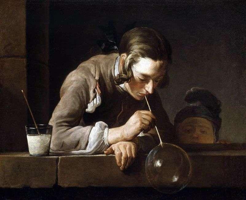 Bańki mydlane   Jean Baptiste Chardin