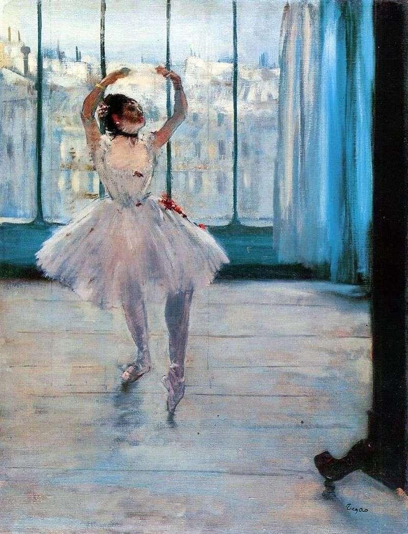 Tancerz u fotografa   Edgar Degas