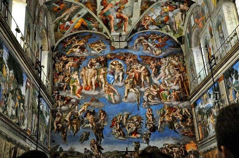 Sąd Ostateczny   Michelangelo Buonarroti